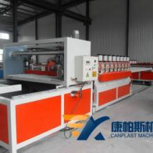 供应康帕斯机械SJSZ80木塑建筑模板设备 木塑模板生产线 木塑模板生产机械批发