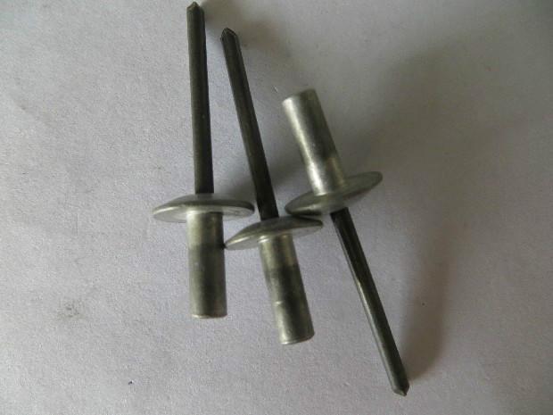 批发供应铝铁封闭型大帽抽芯铆钉,直销封闭型大帽沿抽芯铆钉,厂家生产防水型大帽铆钉