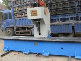 供应100吨液压校直机 100吨单柱液压机 单臂液压机 滕州万合