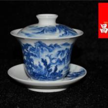 供应陶瓷礼品定制盖碗陶瓷盖碗茶楼喝茶用品批发