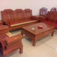 非花小奔沙发123红木沙发图片