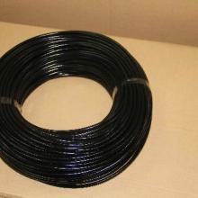 供应黑色外胶耐高压硅橡胶纤维套管