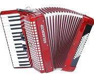 供应金杯牌JH2022 34键72BS贝司5/0变音琴三排簧键盘手风