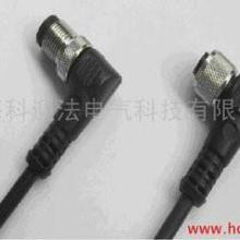 供应M12成型连接器防水接插件传感器连接器航空插头接近开关5芯