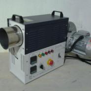 中型标准变频款20KW电加热烘干机图片