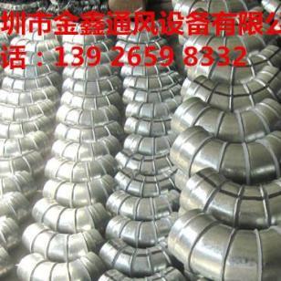 深圳排油烟管厂家镀锌板风管制作图片