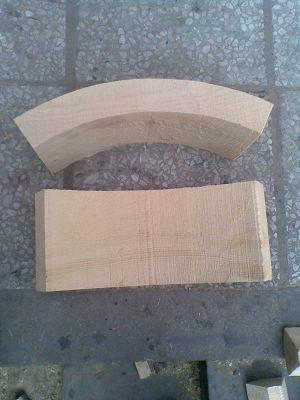 供应管道支吊架垫木