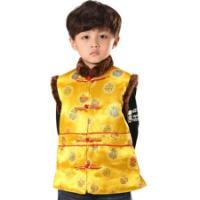 时尚儿童唐装旗袍童装节假装