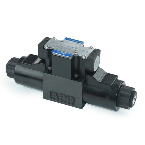 厂家供应液压阀电磁阀DSG-02-3C3-D24双头接线盒电磁换向阀