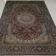 高贵典雅经典款手工编织真丝地毯图片