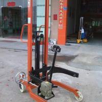 供应350KG液压油桶车、液压油桶升高车、宝安油桶升高车