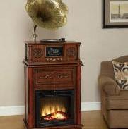 壁炉式留声机图片
