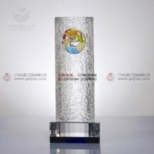 供应琉璃奖杯,广州琉璃奖杯,大展宏图纪念品,表彰大会奖品图片