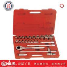 天赋工具24件套12角英制套筒扳手组TW-424S图片
