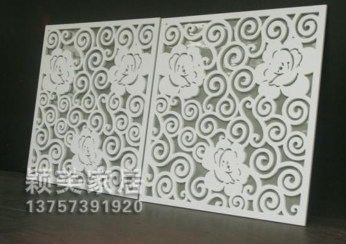 供应Y01雕花板/PVC镂空板/背景墙吊顶
