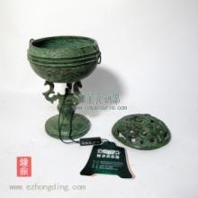 供应龟山铜熏 熏炉 礼品