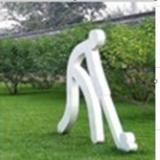 供应湖南打羽毛球雕塑/湖南打网球雕塑/长沙羽毛球雕塑