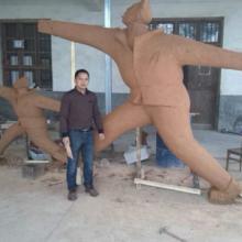 供应南昌财神雕塑/长沙财神雕塑/湖南寺院雕塑