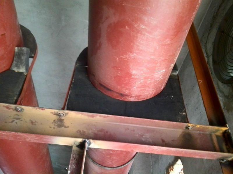 供应保温空调木托40x40型图片