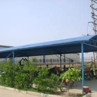 供应南康市彩钢棚、彩钢棚价格、自行车车棚、候车雨篷