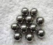 高密度钨合金配重钨球图片