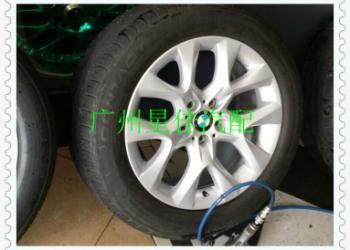 宝马X5轮毂E70改装19寸钢圈图片