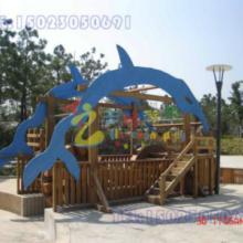 巴南区儿童拓展系列,重庆幼儿园新型木质玩具 重庆江北区木质儿童绳网攀爬架图片