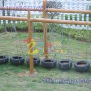 供应武隆县儿童户外攀爬器材※重庆儿童体能训练器材※巴南区木质绳网玩具