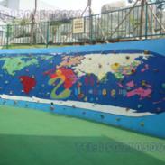 万州区儿童公园攀岩墙图片