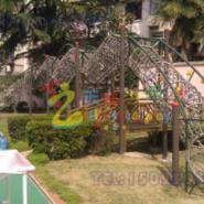 重庆儿童绳网攀爬架图片