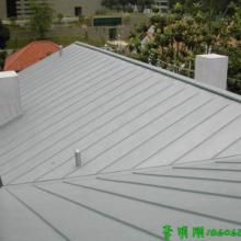供应供应淄博矮立边铝镁锰屋面板,淄博铝镁锰板不锈钢扣件图片