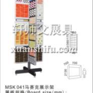 马赛克瓷砖展示架陈列柜图片