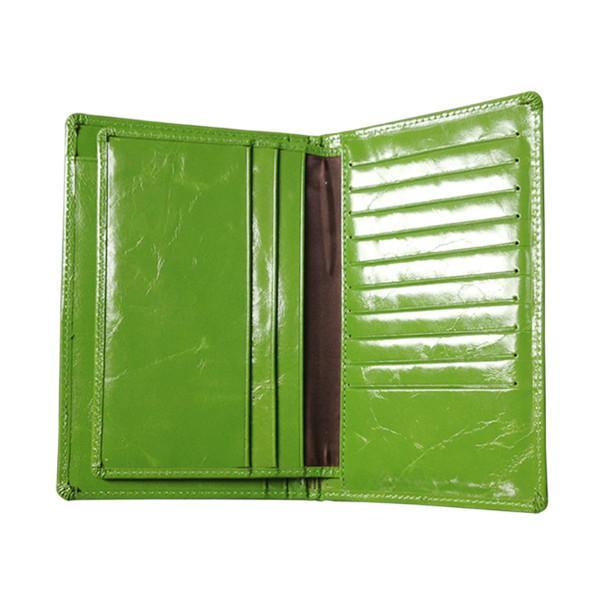 供应油蜡皮护照包上海皮具厂定制真皮护照包时尚韩版卡包
