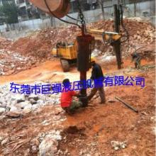 工程岩石要拆除不能爆破用大型劈裂机