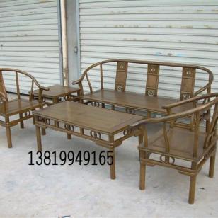 中式古典沙发图片