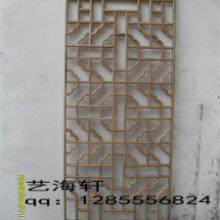 供应实木花格生产厂家/实木花格供应商,仿古门窗等木制品