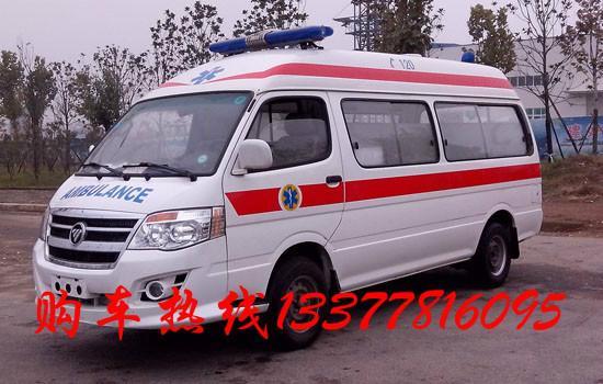 狮120救护车哪里有售 金杯海狮价格 湖北地区江南汽车公司高清图片