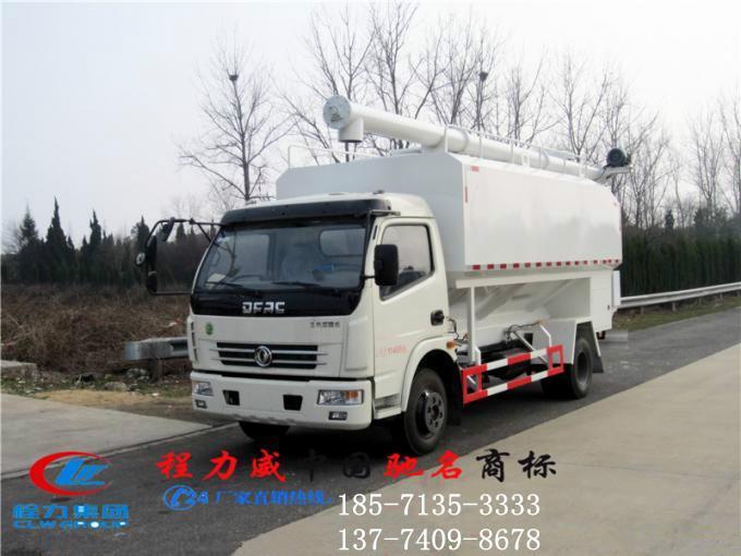 供应东风多利卡12立方120马力饲料车