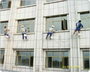 供应玻璃幕墙清洗斜坡高空清洗斗笠外墙清洗清洗外墙化学剂