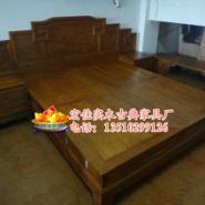 供应红木家具 实木床1米儿童床1.2成人单人床1.5米双人床定制 花