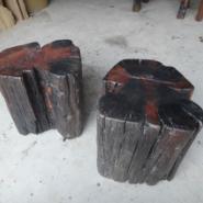 老船木椅子矮凳图片