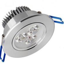 供应5W7W12W高光天花灯尺寸LED天花射灯批发