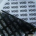 揭开留字VOID防伪材料不干胶图片