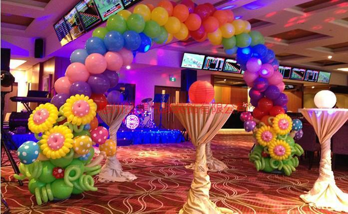 供应河源宝宝酒宴气球装饰,百日宴,生日派对气球布置。