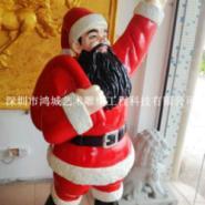 高品质玻璃钢圣诞人物厂家图片