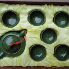 陶瓷茶具哥窑汝窑黑檀茶盘欧圣欧圣轩超低价供应台湾冰裂釉茶具批发