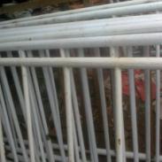 商河专业护栏一米线租赁公司图片