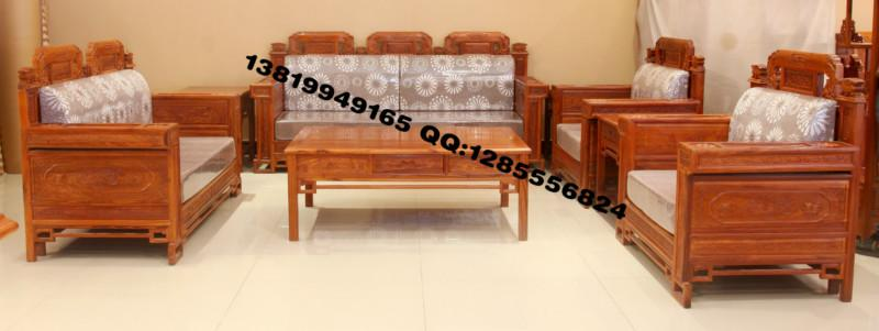 供应新中式红木沙发,软体沙发,花梨木沙发