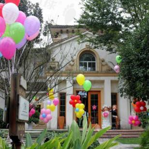 婚礼气球装饰/成都气球婚礼图片