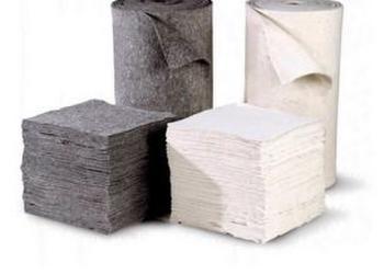 环保型吸附棉再生纤维吸油棉图片